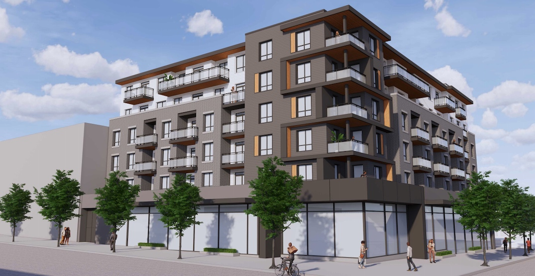 6-storey retail and condo building proposed near Commercial-Broadway Station