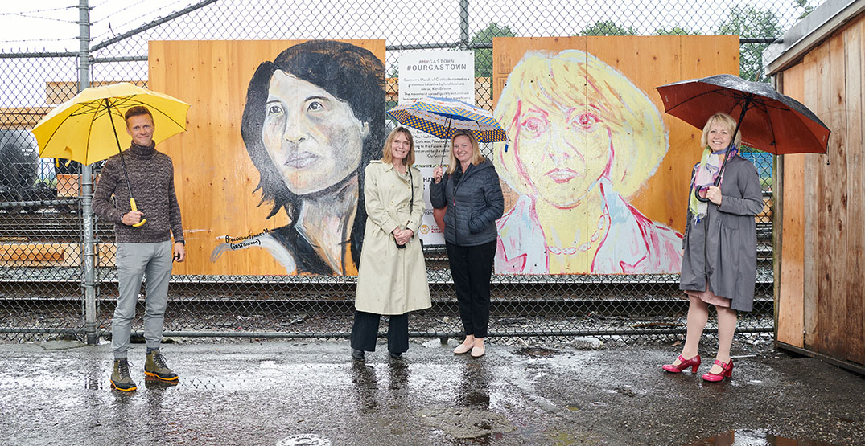 Bonnie Henry murals of gratitude