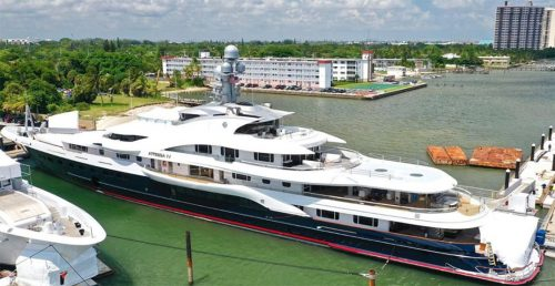US billionaire's superyacht arrives in North Vancouver for repairs   News