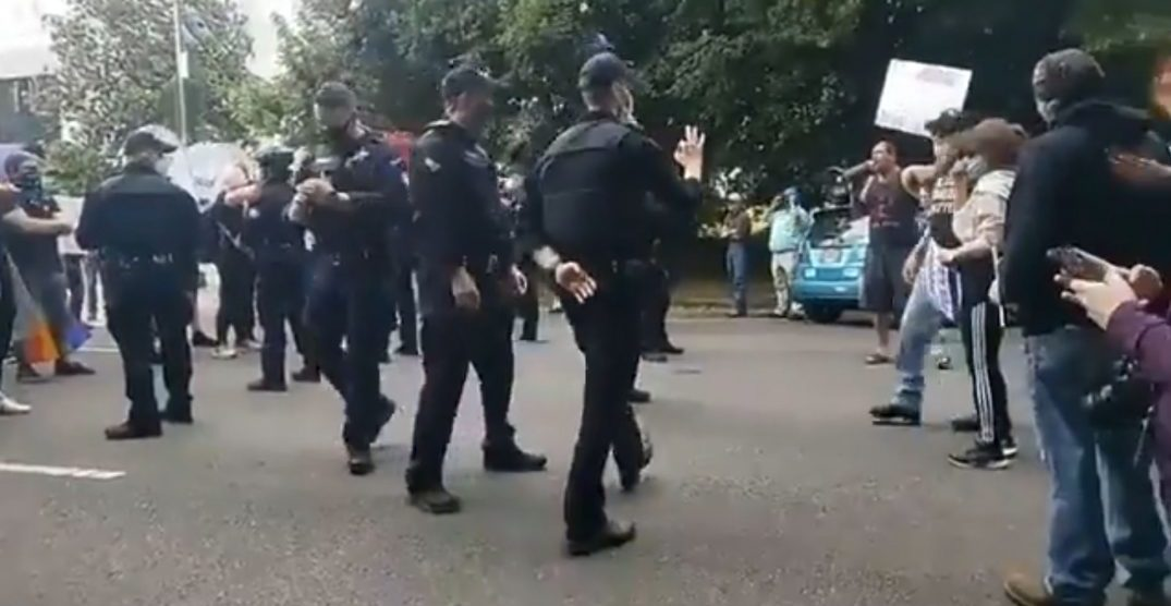 "Oregon State Police denies officer used ""white power"" hand signal"