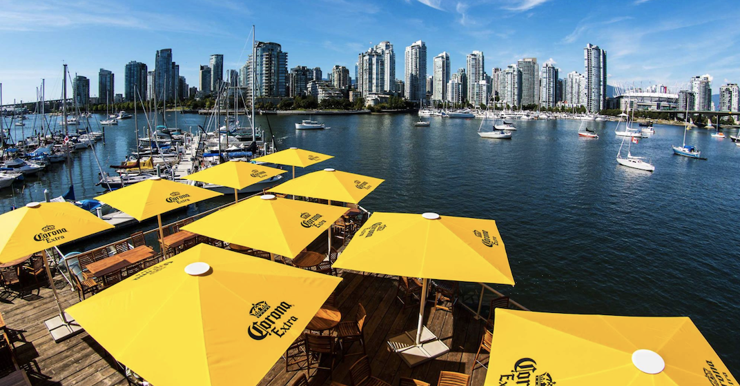 9 best waterfront patios in Vancouver
