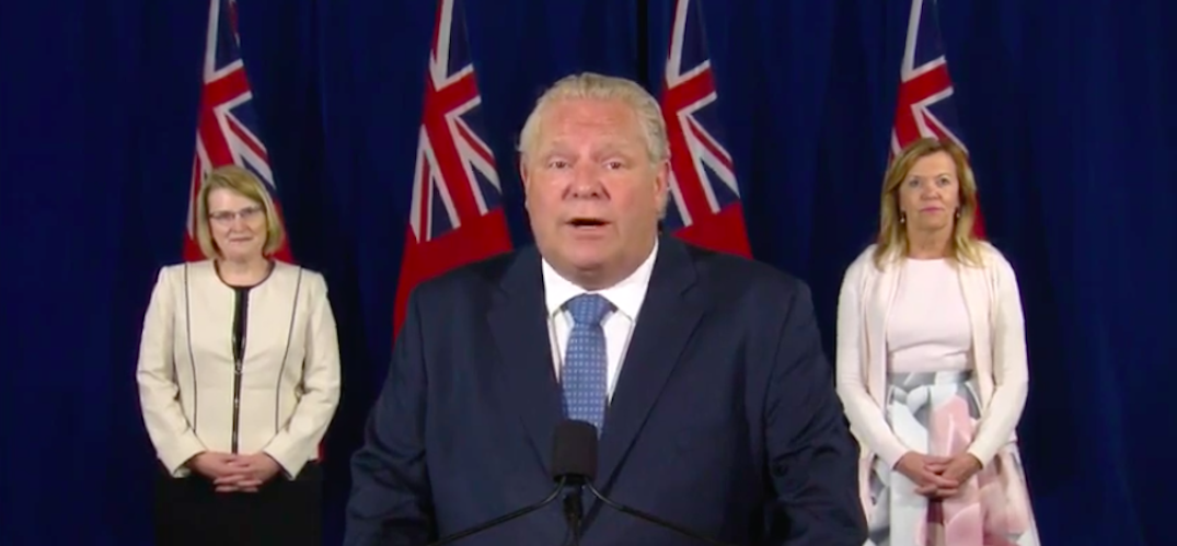 Ontario introduces legislation to extend emergency order measures for up to a year