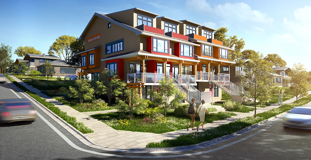 Townhouses leading the Lower Mainland's pre-sale market during the pandemic