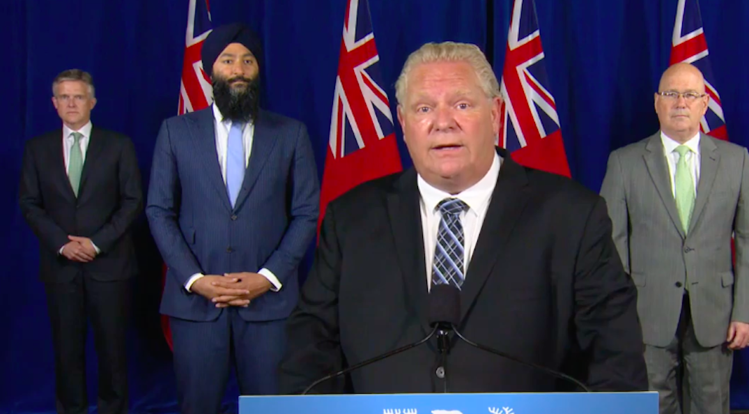 Ford says he's fighting for municipalities to get a fair economic recovery deal