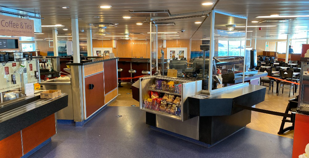 BC Ferries reopening food service and onboard amenities
