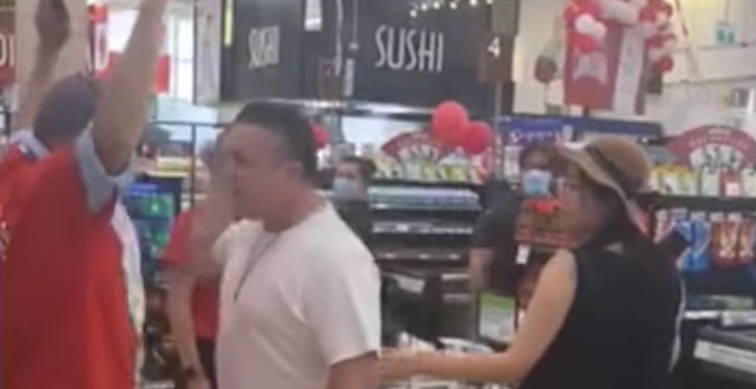 "Suspect identified in ""hate-motivated"" incident caught on video at T&T Supermarket"