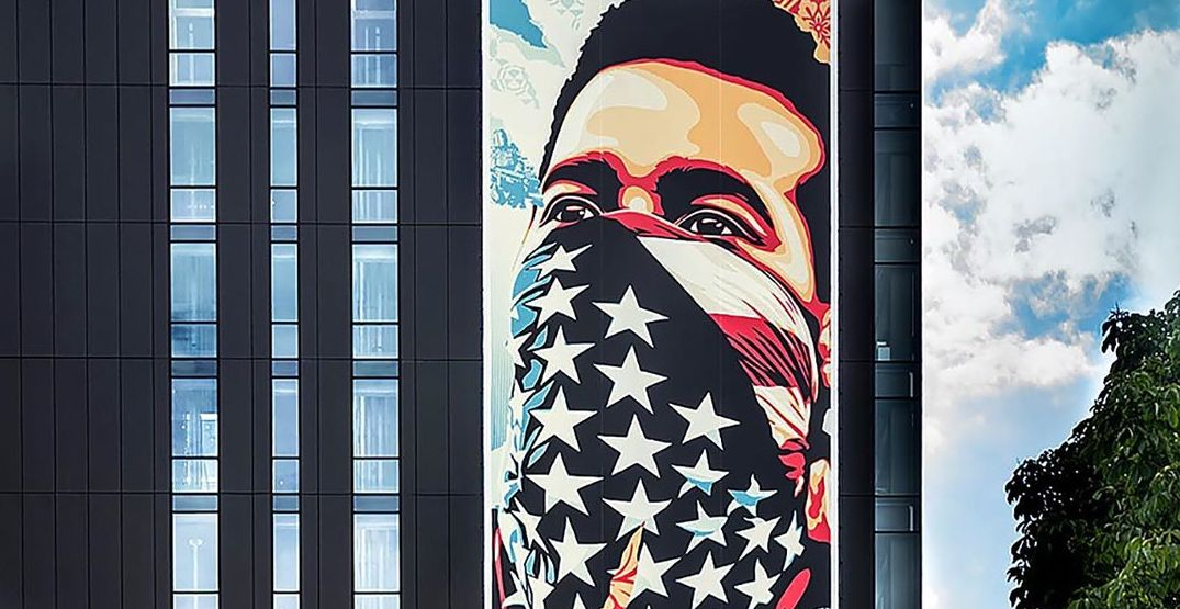Seattle has a new mural representing American protest and racial justice