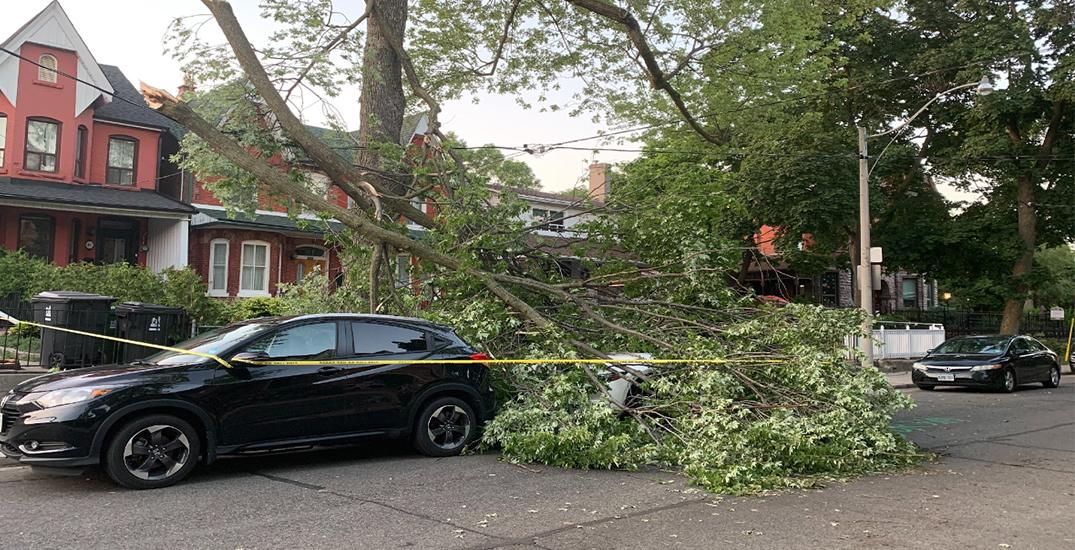 Toronto storm leaves thousands of residents without power