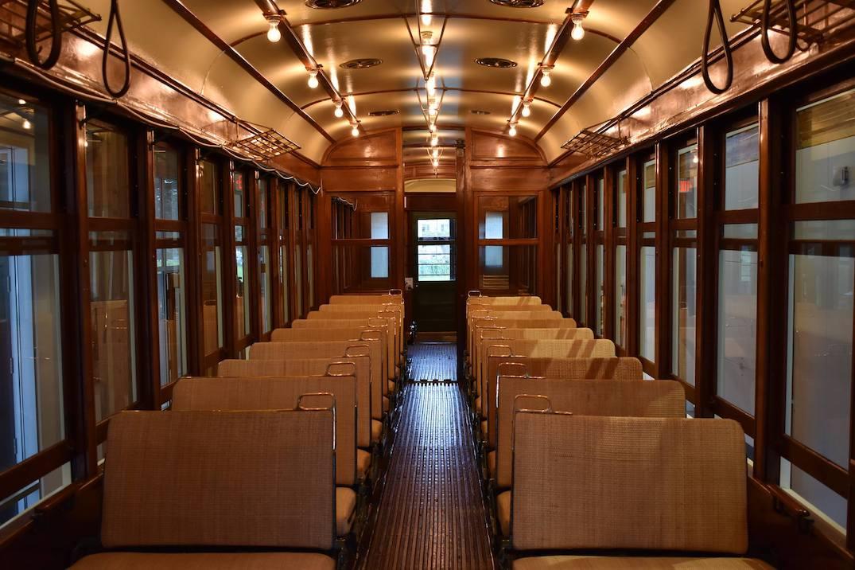 steveston tram car 1220