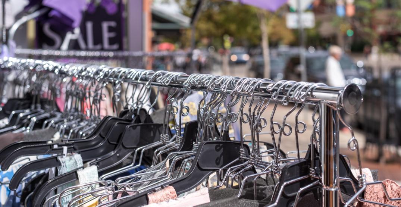 A sidewalk sale is happening this weekend in Portland