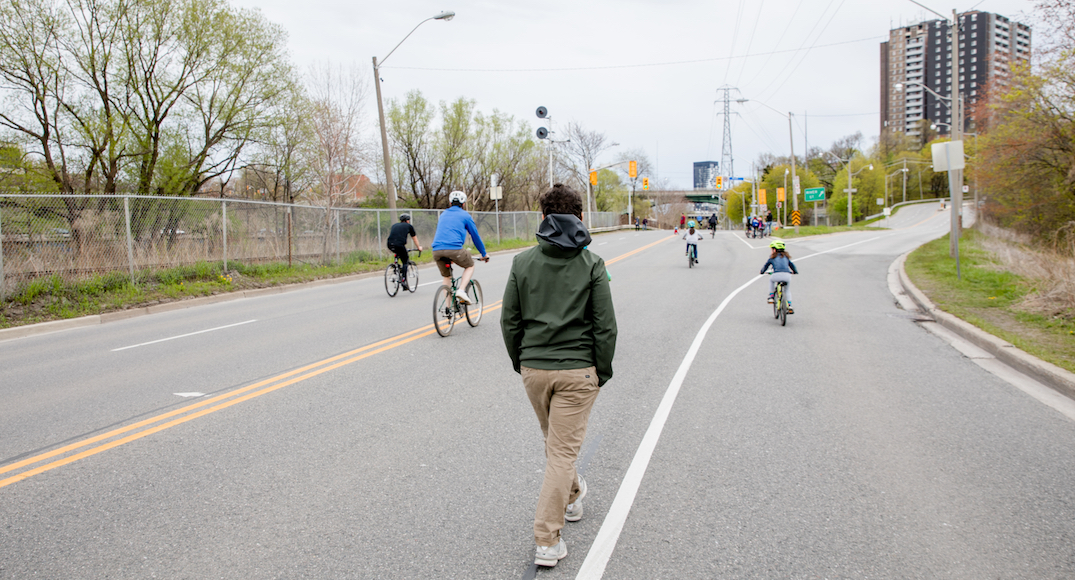 Toronto continues to close major roads for pedestrians, cyclists this weekend