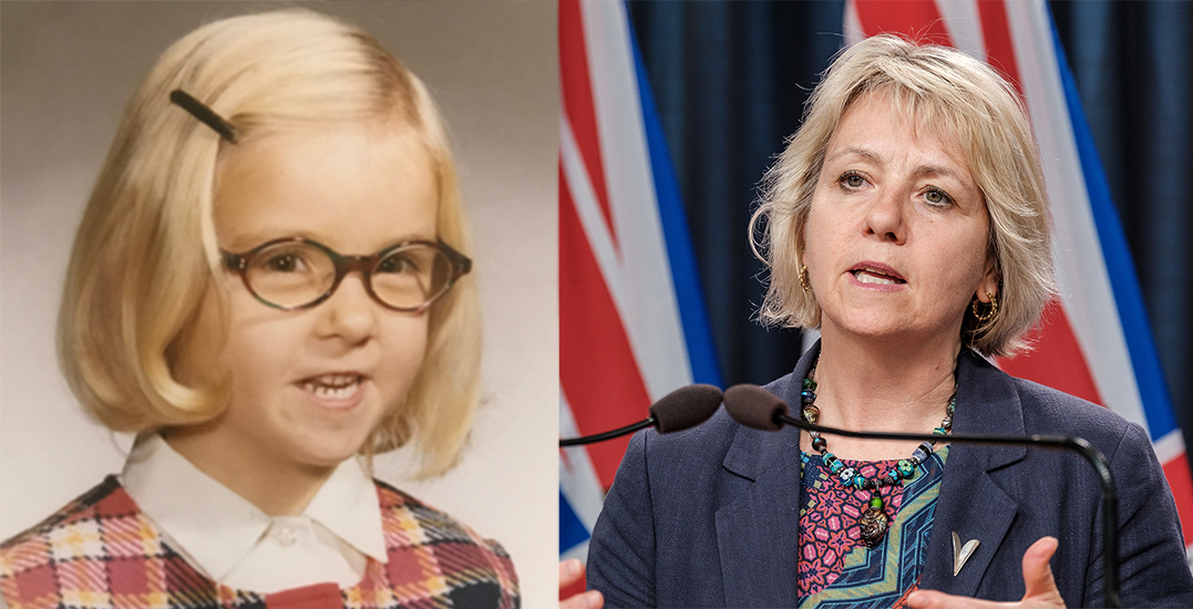Young Bonnie Henry is the face of Science World's new fundraising campaign