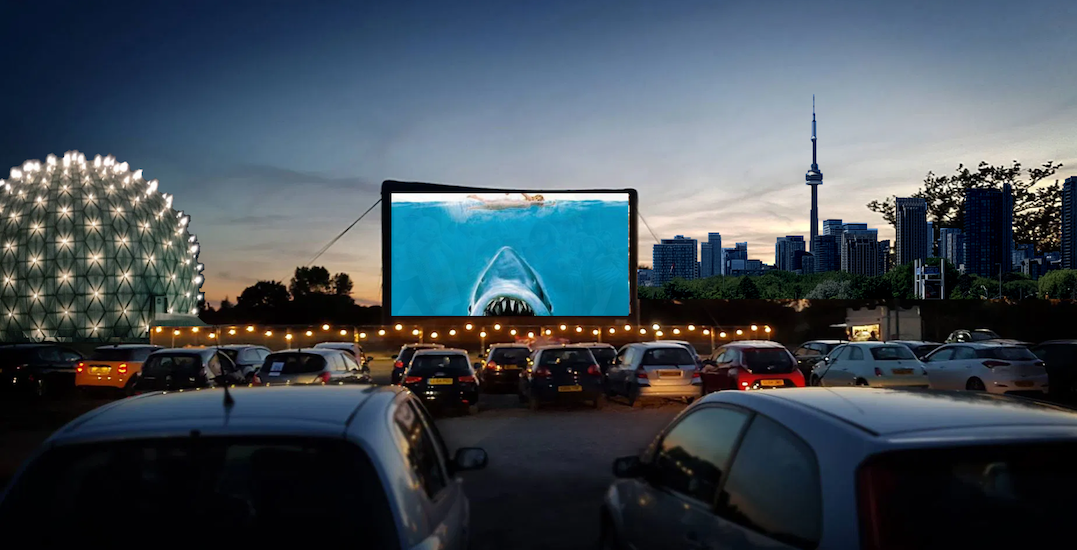 Ontario Place is getting a massive drive-in experience this week