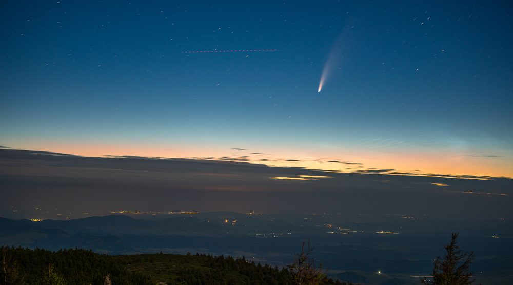 This incredibly rare comet will be visible over Canada this month