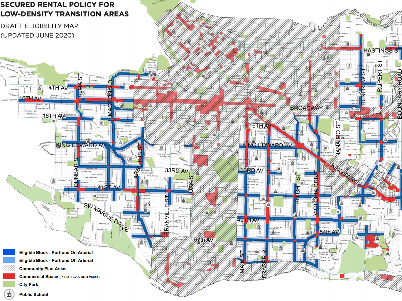 vancouver secured rental zoning for low-density transition areas