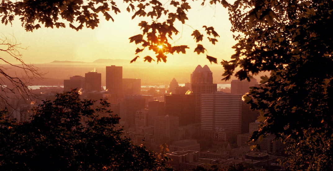It's expected to feel like 33ºC in Montreal this weekend