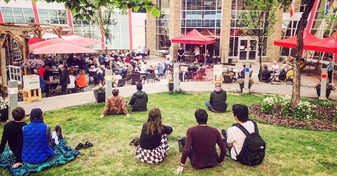 Outdoor concerts return to Edmonton's French Quarter this month