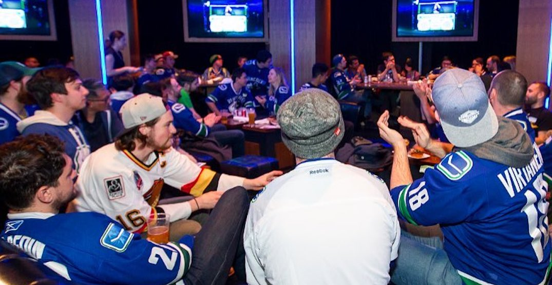 Rogers Arena Sportsbar is holding Canucks playoff watch parties