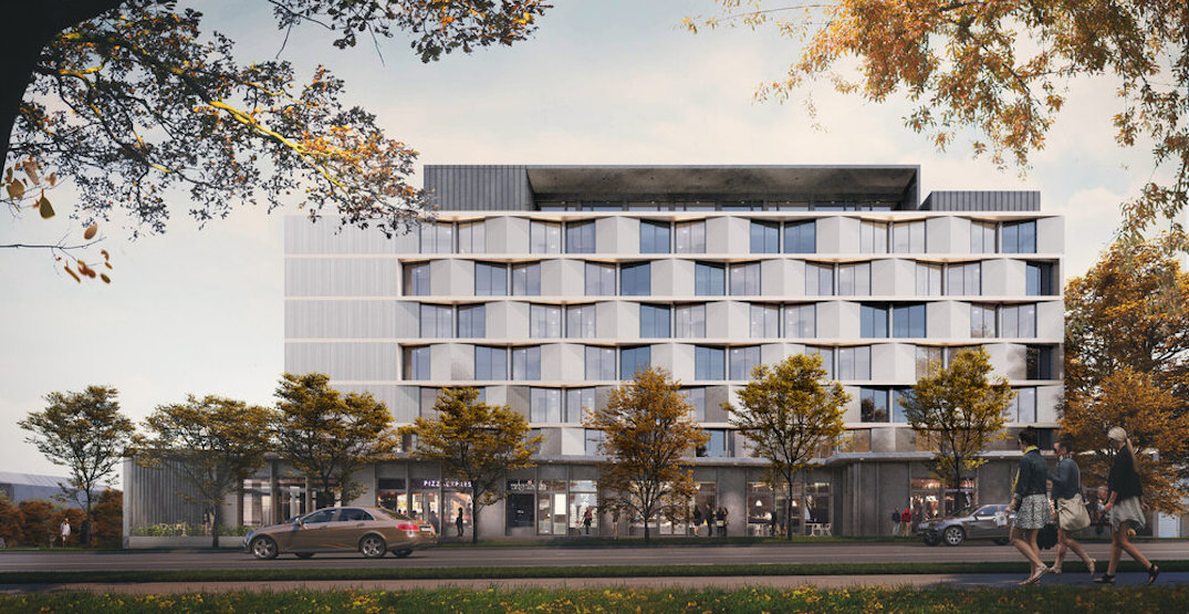 Rental homes, brewery, and office proposed near future Vancouver SkyTrain station