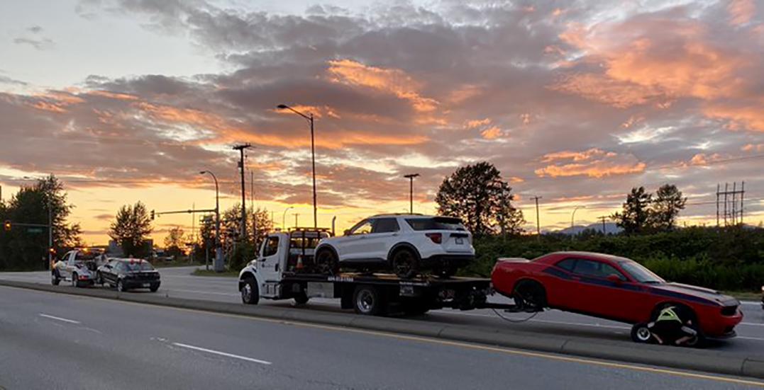 Dozens of excessive speeders caught across Metro Vancouver this week