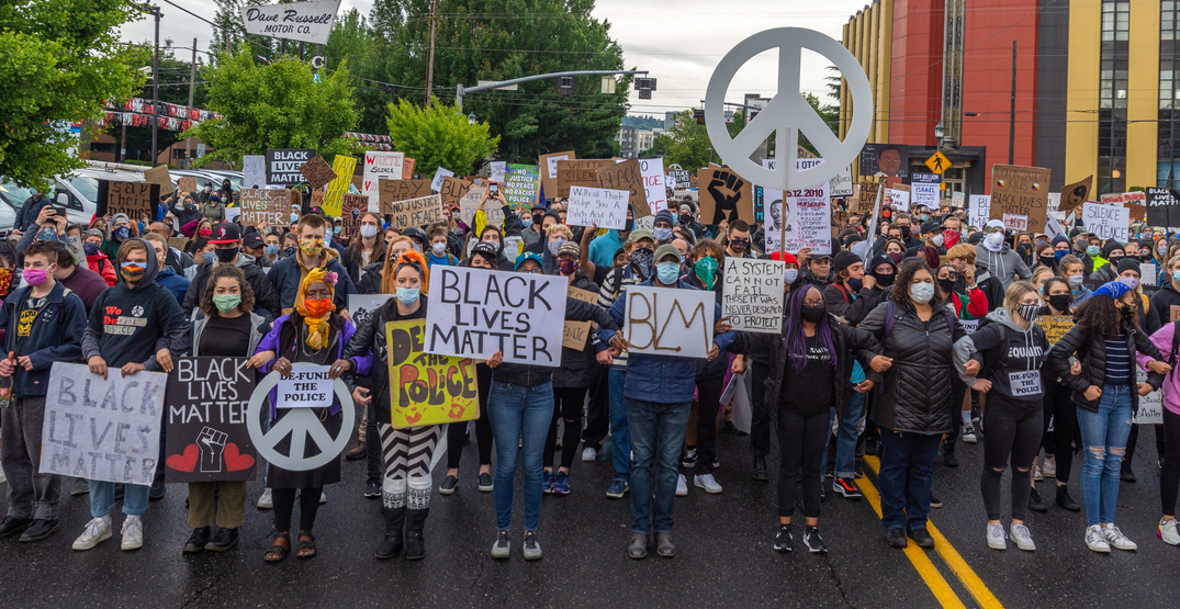 No arrests made at Tuesday night protest in Portland: report