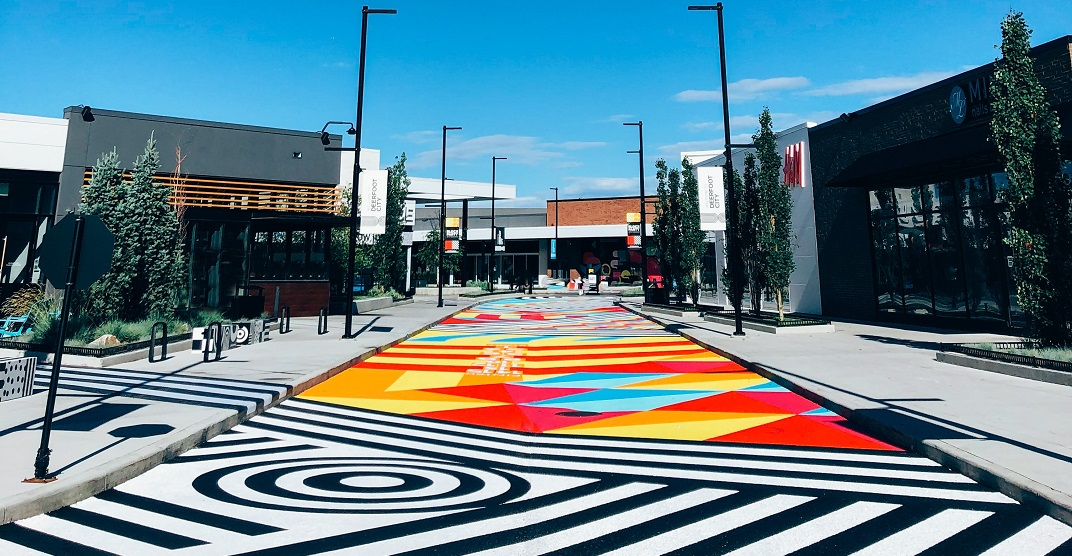 A 200-foot mural was just unveiled in Calgary (PHOTOS)