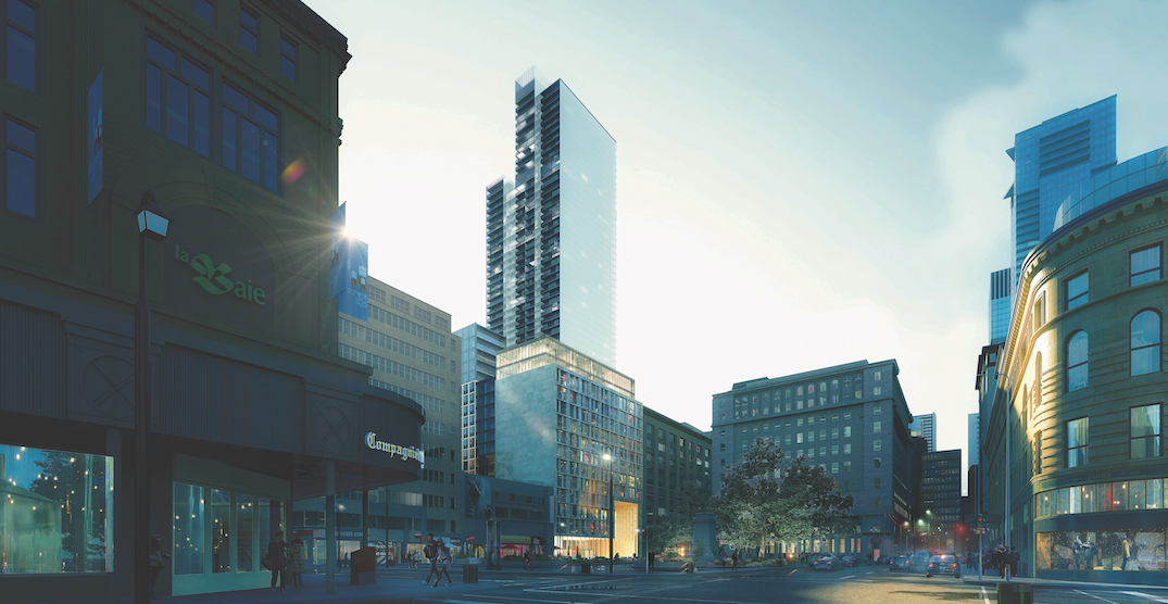 Construction on Montreal's $560 million residential tower begins (RENDERINGS)