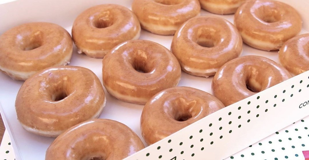 Krispy Kreme is about to open its new store in Scarborough