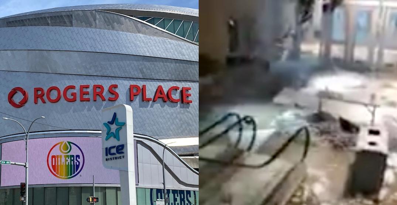 Edmonton Oilers say arena flood won't delay NHL playoffs