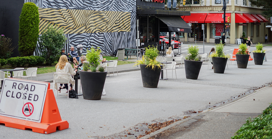 Two outdoor pop-up plazas just opened in South Granville (PHOTOS)