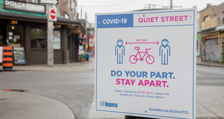 Toronto reporting under 100 new coronavirus cases since Wednesday