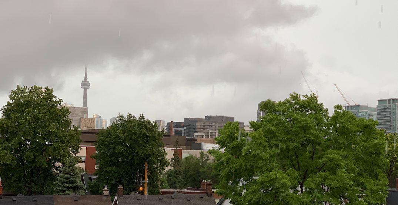 Tornado risk as Toronto's thunderstorm watch upgraded to warning