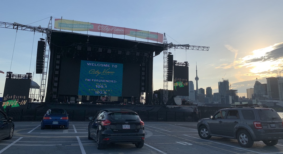 Here's what a concert is like at Toronto's newest drive-in venue (PHOTOS)