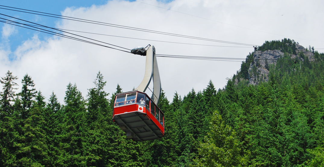 Grouse Mountain is closed this entire week