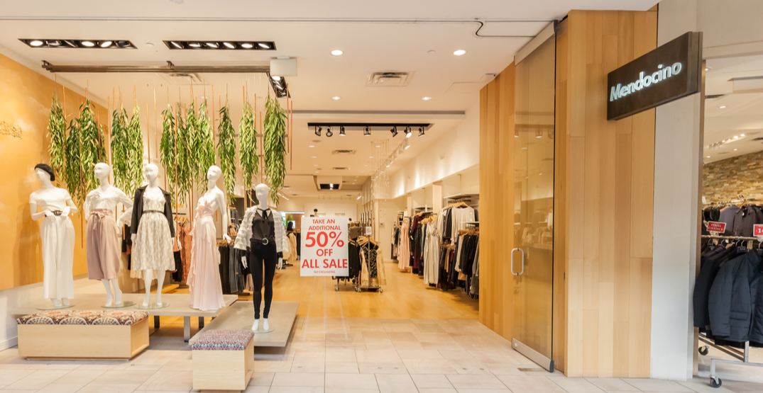 Toronto-based Mendocino closes stores and files for insolvency