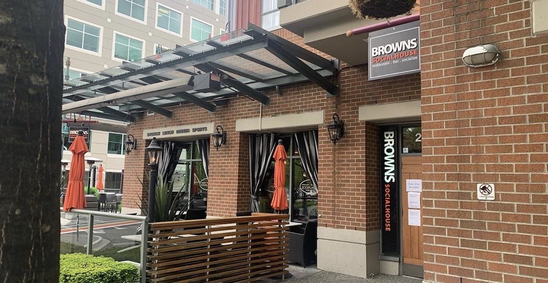 Staff member tests positive for coronavirus at Browns Socialhouse in Port Moody