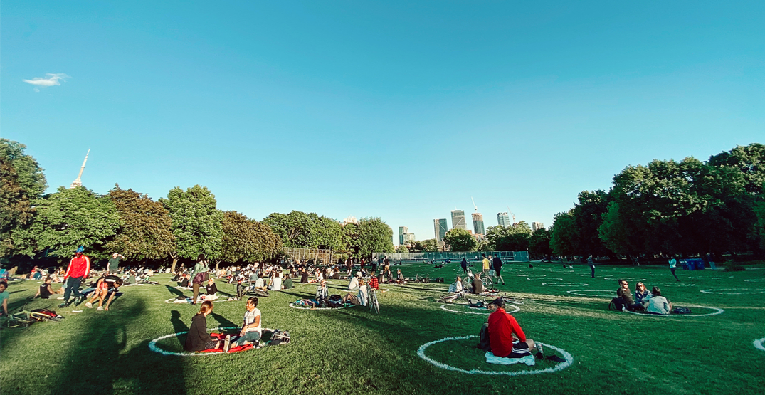 Physical distancing circles are coming back to Trinity Bellwoods