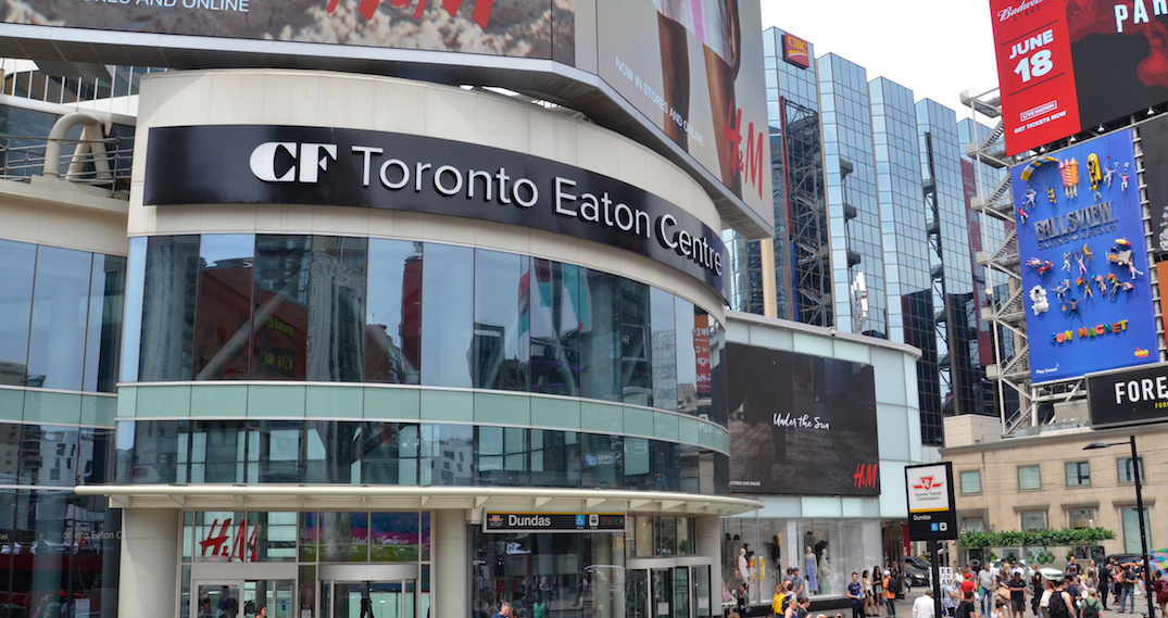 Employee at Toronto Eaton Centre tests positive for coronavirus