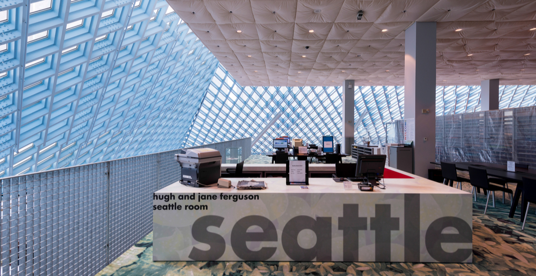 You can now return borrowed books to the Seattle Public Library