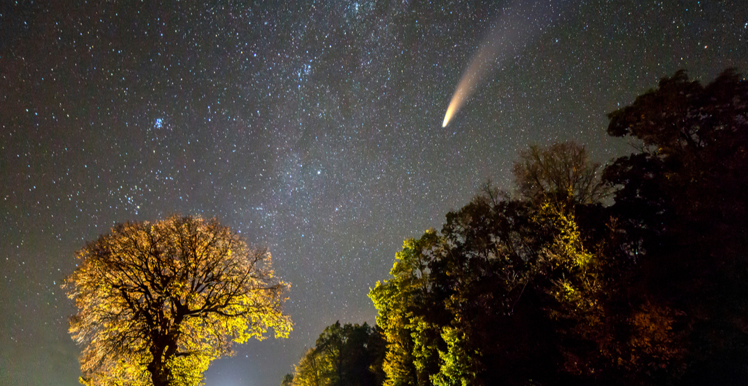 This rare comet will be most visible in Canada over the next three days