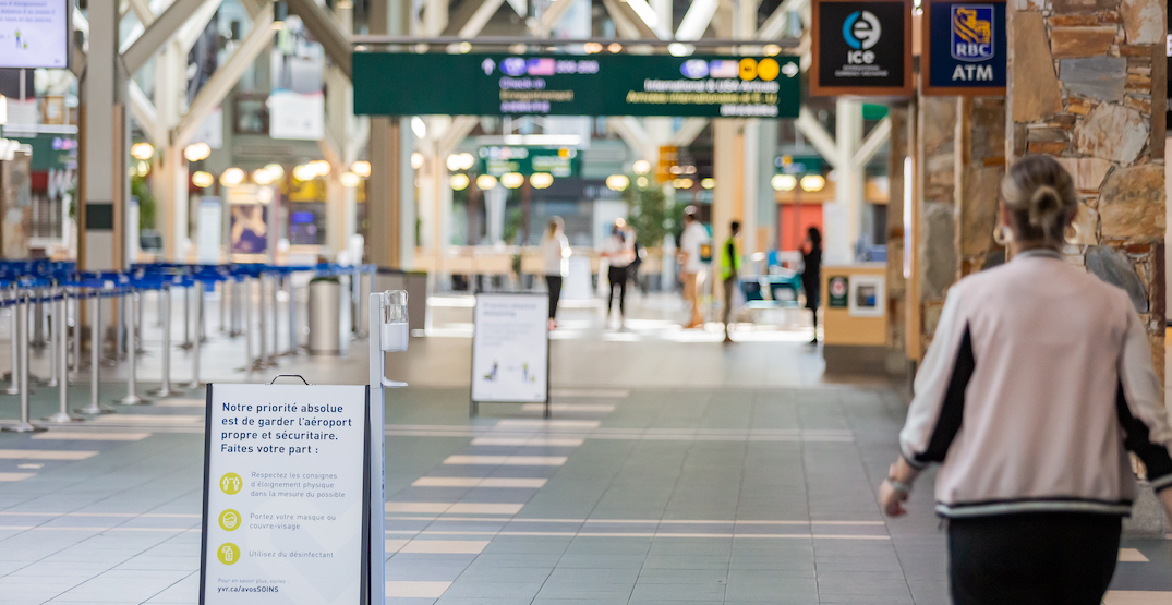Coronavirus cases identified on multiple international flights landing in Vancouver