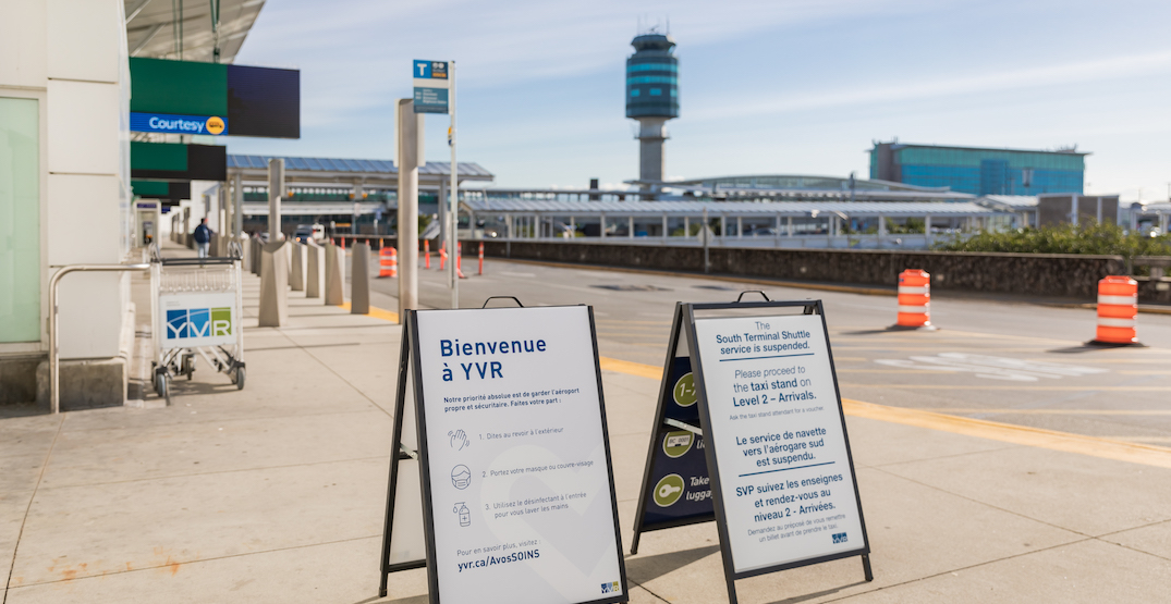 Vancouver International Airport saw 85,456 passengers in May 2020