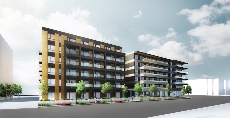 140 rental homes proposed next to TransLink's Phibbs Exchange