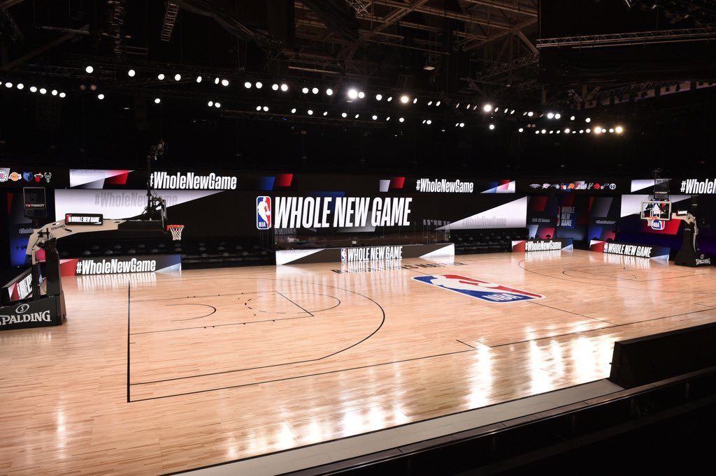 NBA Bubble Arena - Whole New Game