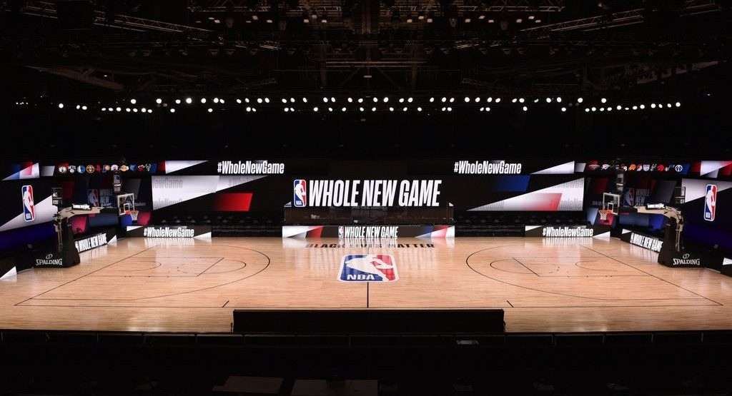 "NBA finally reveals what the ""Bubble"" arena looks like (PHOTOS)"