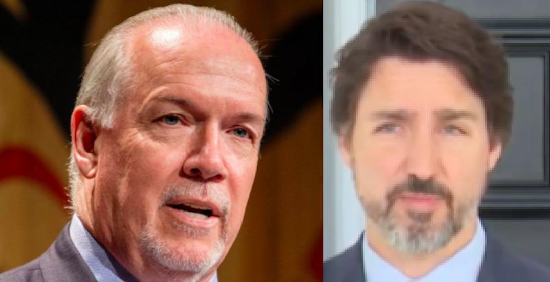 BC premier officially asks Trudeau to decriminalize illegal drugs