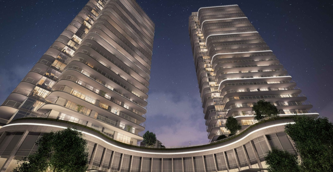 LED lighting to be added to new condo towers in Brentwood