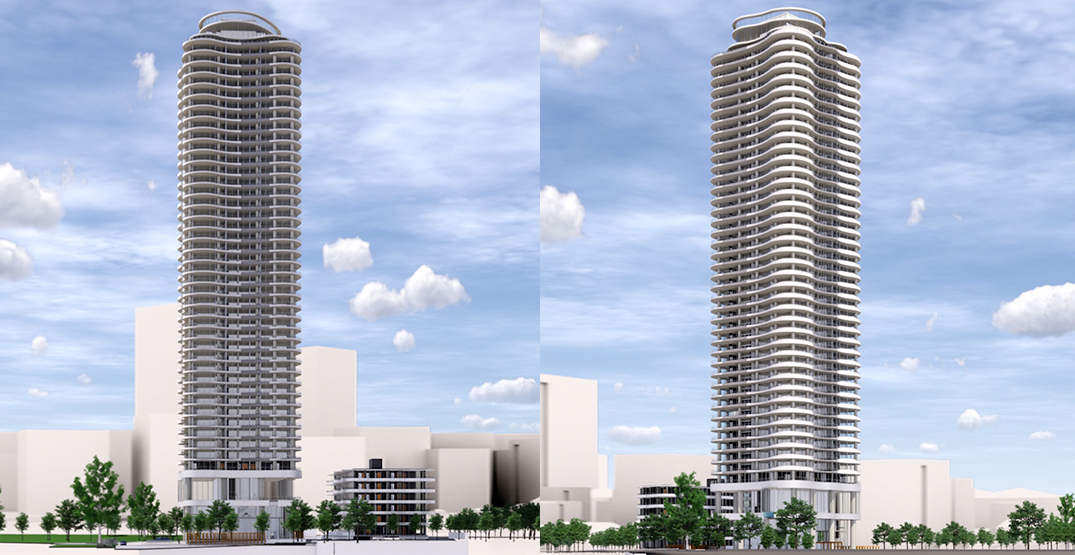 447-ft-tall residential tower proposed near SkyTrain's Patterson Station
