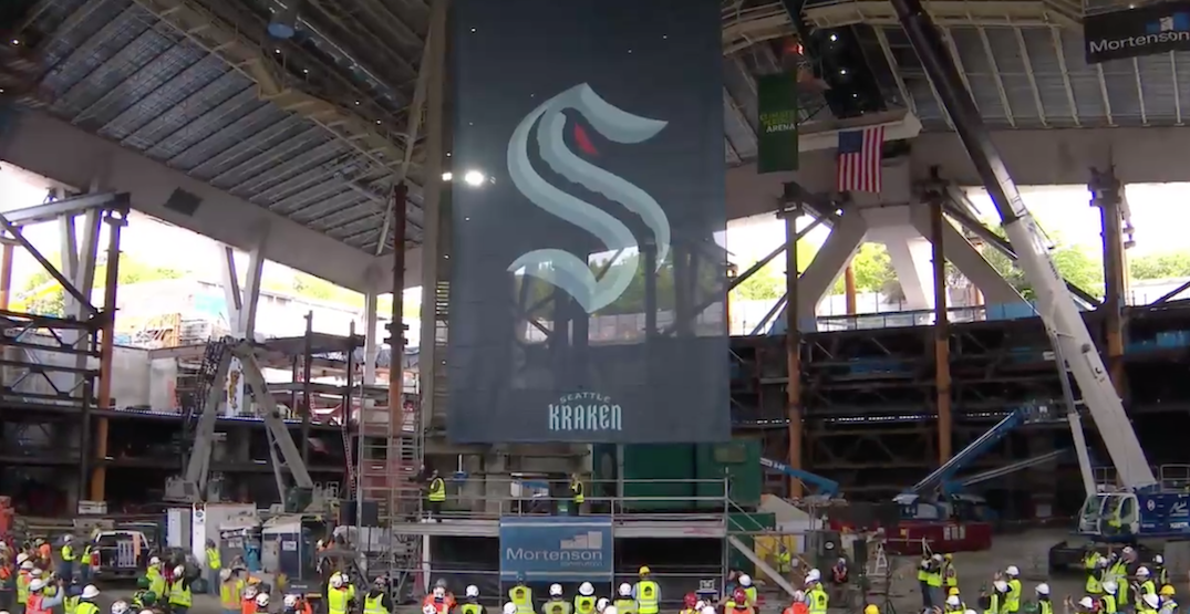 New Seattle NHL team finally unveils name and logo (PHOTOS)