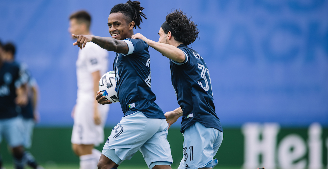 Whitecaps shock Chicago for surprise advancement to Round of 16